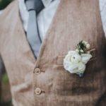 fiore da taschino per sposo
